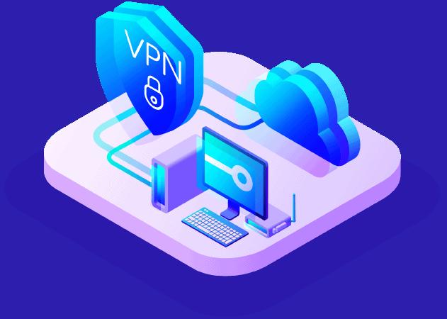 ¿Qué es una VPN? Diagrama ilustrativo