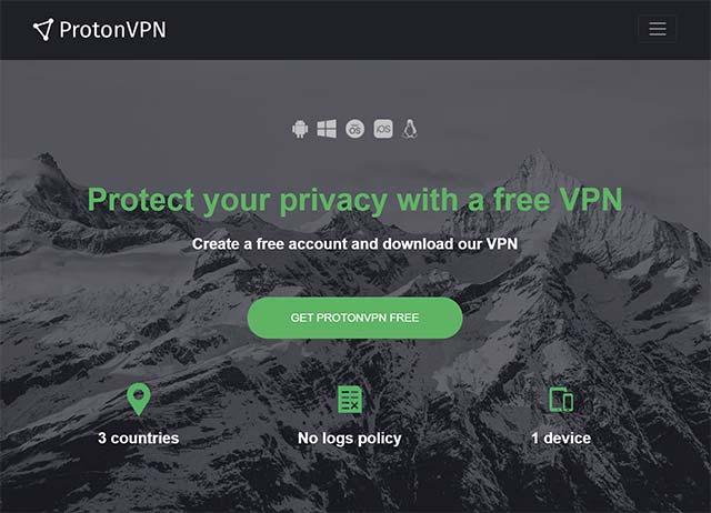 is protonvpn free