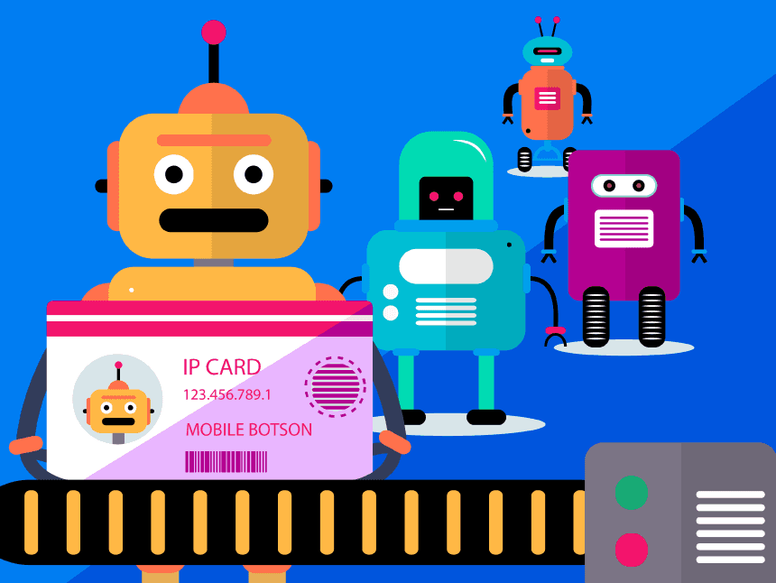 what is ip blocking and how to avoid ip bans: bot identification queue illustration